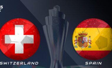 Mungon Xhaka, formacionet e mundshme të ndeshjes Zvicër – Spanjë