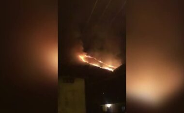 Era favorizon flakët, në Dukat riaktivizohet vatra e zjarrit (VIDEO)