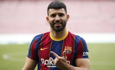 """Aguero nuk kursehet, shpenzon mijëra euro sapo """"zbarkon"""" në Barcelonë"""