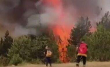 Maqedoni e Veriut: Një numër i madh i zjarreve ende aktivë (VIDEO)