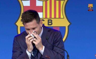 Fjalët e para të Messit mes lotësh: Erdha si fëmijë dhe po largohem tani që jam burrë (VIDEO)