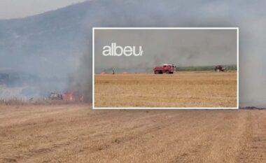 Albeu: Peleshi: Zjarri në Gjorm i rrezikshëm, banorët të mos kundërshtojnë evakuimet