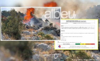 IGJEUM paralajmëron qytetarët: Dy qarqet më të rrezikuara nga zjarret ditën e nesërme