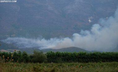 Sërish zjarr në Karaburun, rrezikohet baza ushtarake e Pashalimanit (FOTO LAJM)