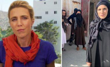 E rrethuar nga talebanët e armatosur, gazetarja e CNN mbulohet për të raportuar nga Kabuli (FOTO&VIDEO)
