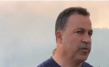 """""""E qëllimshme"""", Peleshi për zjarrin në Voskopojë: Është një vatër e rrezikshme (VIDEO)"""