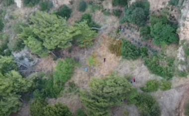 Policia aksion anti-drogë me dron në Vlorë, arrestohen në flagrancë dy persona (VIDEO)