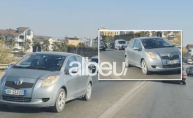 E FUNDIT/ Aksident i rëndë në Tiranë-Durrës, 2-vjeçari dërgohet me urgjencë në spital