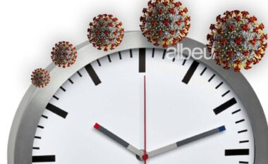 A e dinë bakteret sa është ora?