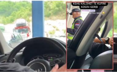 Para policëve, ish-konkurrenti i Përputhen kalon kufirin serb me këngën e Adem Jasharit (VIDEO)