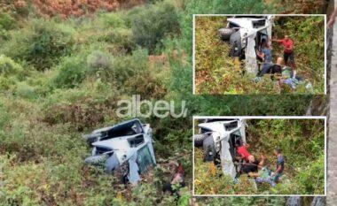 Albeu: Radhë kilometrike mjetesh, aksidenti me 5 viktima në Muzinë krijon trafik të rënduar (VIDEO)