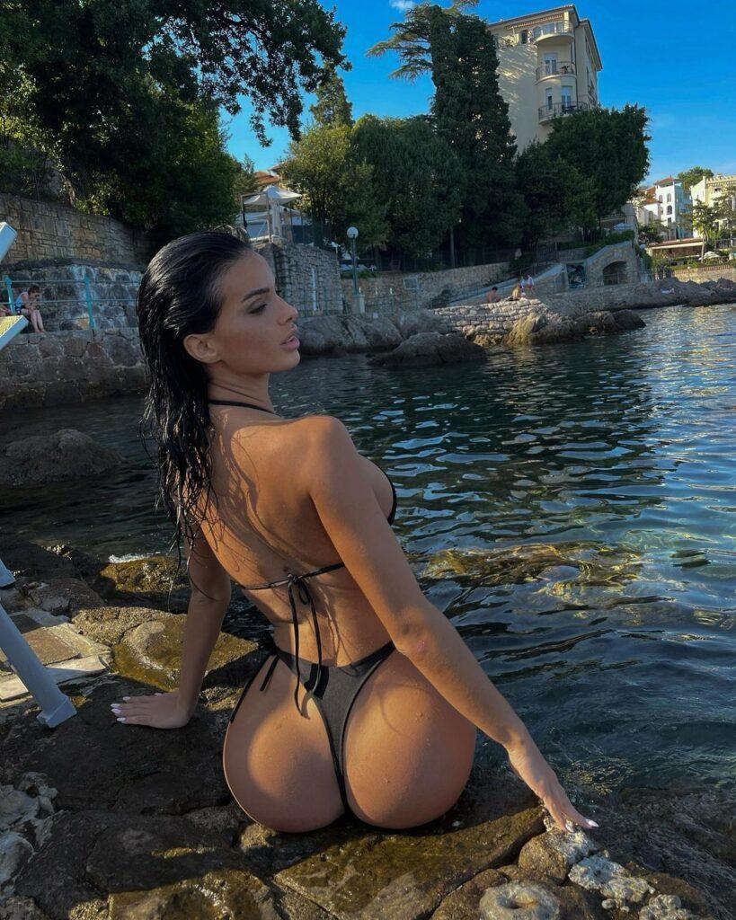 Pushime luksoze ne Mykonos, e dashura kroate e Lirim Kastratit ngre  temperaturat me pozat (FOTO LAJM) – Albeu.com