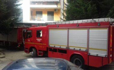 Zjarr në unazën e qytetit të Korçës