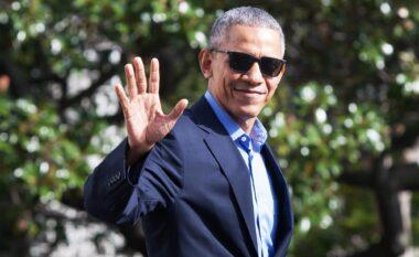 """Barack Obama """"shfrenohet"""" në 60-vjetor, dalin pamjet e rralla nga festa e ditëlindjes (VIDEO)"""