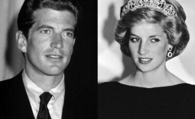 Zbulohen detaje të reja nga takimi sekret mes Princeshë Dianës dhe John F. Kennedy Jr.