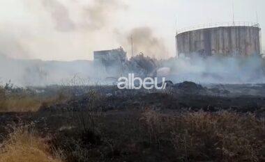 Përfshihen nga flakët zona e ish-depove të naftës në Nartë (VIDEO)