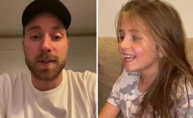 """""""Ashtu siç u bëra dhe unë"""", Eriksen motivo vogëlushen që vuan nga problemet në zemër"""