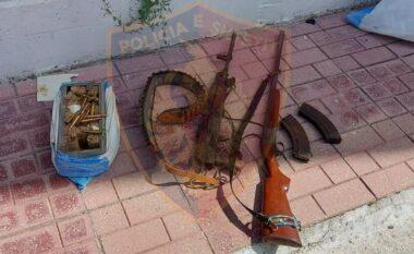 Automatik, armë gjahu, karikatorë dhe municion luftarak, arresohet poseduesi i tyre në Pogradec