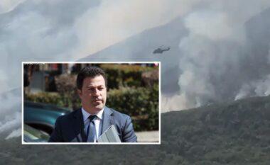 Shqipëria në alarm nga zjarret, Peleshi zbulon dy vatrat më të rrezikshme (VIDEO)