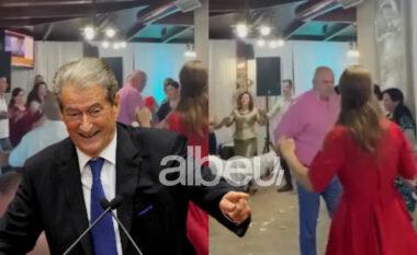 20 mijëlekëshat nëajër! Safet Gjici e tund vallen, Sali Berisha i publikon pamjet (VIDEO)