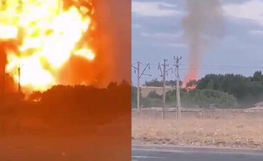 500 tonë tritol, shpërthim i fuqishëm trondit Kazakistanin (VIDEO)