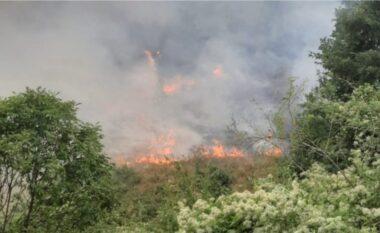 """Situata alarmante nëKukës! Zjarri rrezikon fshatin, 100 ushtarënga Kosova pritet tështohen """"luftës"""""""