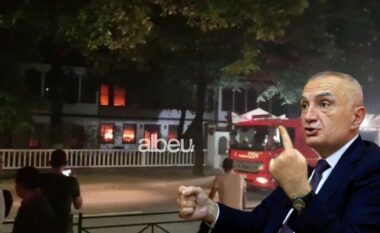 Zjarri në Sarajet, Meta: Akt kriminal për t'i hapur udhën ndërtimit të kullave