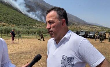 Zjarret, Peleshi: Shfaqet një vatër tjetër e rrezikshme në Lunxhëri, banorët të evakuohen