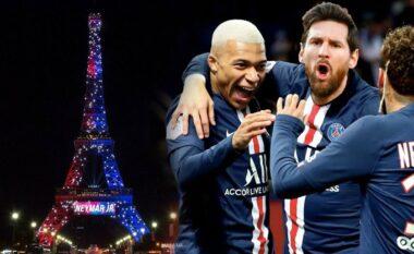 Më 10 gusht Parisi mban frymën, PSG rezervon Kullën Eifel për Messin (FOTO LAJM)