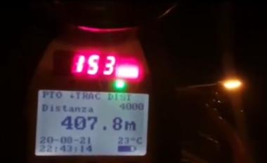 Me shpejtësi skëterrë dhe të dehur, në 4 orë policia arreston disa shoferë dhe pezullon 16 patenta në Sauk-Teg (VIDEO)