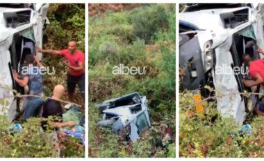 EMRAT/ Çifti i bashkëshortëve që humbi jetën në aksidentin në Qafë Muzinë, një trup ndodhet ende në furgon
