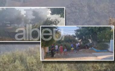Zjarri alarmon Radhimën! Digjen dy godina, pushuesit marrin valixhet e braktisin hotelet pranë (FOTO LAJM)