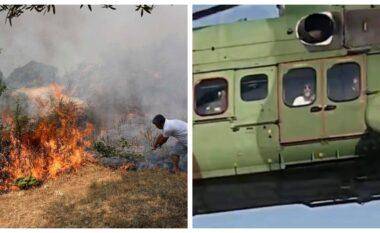 Zjarret, Basha publikon foton: Rama i heq një helikopter ushtrisë, për ta përdorur për udhëtimet e tij