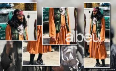 """Jo vetëm luftëpor edhe modë! Talebani """"pushton"""" mediat me veshjen e çuditshme qëkushton 10 mijëdollarë(FOTO LAJM)"""