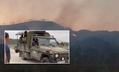 Situata e zjarreve në vend: Stabilizohet situata në Gjirokastër, problem Karaburuni dhe Kukësi