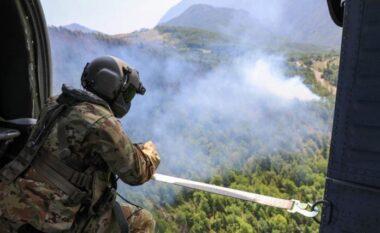 Dhjetë vatra zjarri janë ende aktive në Kosovë