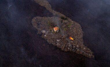Ndodh mrekullia, kjo shtëpi i shpëton llavës së vullkanit që shkrumboi gjithçka në Ishujt Kanarie (FOTO LAJM)