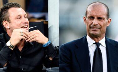 Cassano: Juve e turpshme, ka ekipin më të fortë në ligë por Allegri duket i hutuar