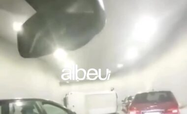 Makina e dytë brenda ditës, përmbyset furgoni në tunelin tek ish-dogana (VIDEO)