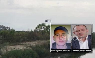 Polici i vrarë ngre helikopterët mbi Lezhë, operacione nga toka dhe ajri për gjetjen e autorit të krimit (VIDEO)
