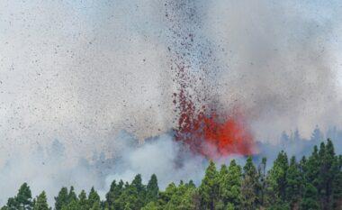Pamje të rralla, shpërthen vullkani Kubre Vieha në ishullin La Parma në Spanjë (VIDEO)
