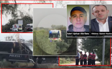 Qëlloi mbi veten me armën që vrau policin, momenti kur 21-vjeçari hipet në ambulancë në gjendje kritike  (VIDEO)