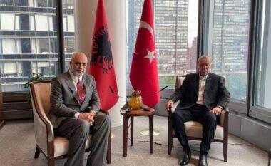 Rama konfirmon takimin me Erdogan: Foto e ditës