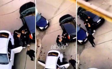 Publikohet momenti i rrëmbimit të Kozakut, katër veta e fusin në makinë (VIDEO)