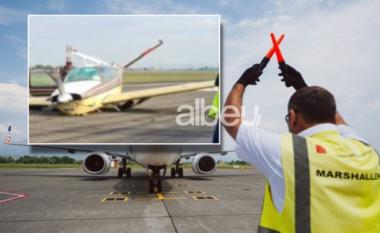 Njëfamilje nëbord! Gomat nuk u hapën nëulje, përplaset nëRinas avioni privat (FOTO LAJM)