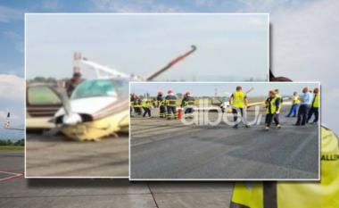 E FUNDIT/ TIA zbardh përplasjen e avionit në pistën e Rinasit: 4 pasagjerë në borg, rrotat nuk u hapën!