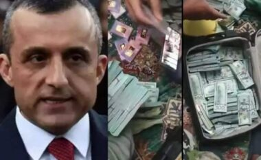 Shtatëmbëdhjetë kallëp floriri dhe 6 mln dollarë, talebanët bastisin shtëpinë e ish-zv. presidentit të Afganistanit (VIDEO)