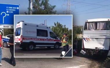 Përplasja e autobusit me trajlerin në Lezhë, policia jep detaje të aksdentit (VIDEO)