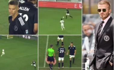 """""""I paska ngjarë mamit për futboll"""", tifozët tallen me djalin e David Beckham (VIDEO)"""