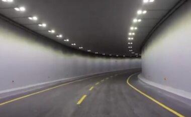 Rama jep lajmin e mirë: Hapet tuneli nr 5 tek nyja Shqiponja, si do qarkullojnë mjetet (VIDEO)